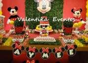 mickey  mouse  ,fiestas  infantiles  con valentika eventos