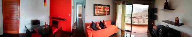 Departamento full amoblado/equipado 03 dorm. en alquiler Los Álamos de Monterrico, Surco, Lima-Per�