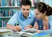 Encontraras los mejores profesores con certificados internacionales -24 h. del dia.