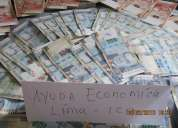 Brindo ayuda economica de 100 150 200  tengo 25 aÑos soy profesional