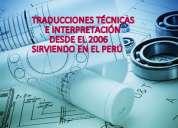 Msr traducciones - servicios de interpretación técnica y comercial