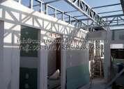 tecnico especialista en cielo raso con baldosa y tabiquerias en drywall realizamos sus proyectos en