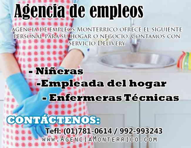 Agencia de Selección de Empleadas de Hogar y Servicio Doméstico
