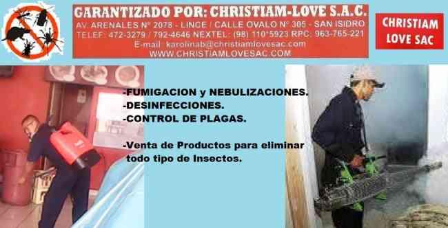 FUMIGADORES EN MIRAFLORES, SERVICIOS FUMIGACION 792-4646