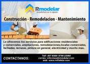 Rmodelar | hacemos trabajos de construcción y remodelaciones a oficinas