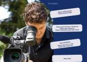 Videos institucionales 4k y  alta definición