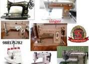 Servicio tecnico integral para maquinas de coser a domicilio y talleres