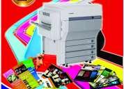 Impresión láser a color en perú: a4, a3,cds/ dvd  imprenta digital 424-2971