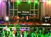 Orquesta show la trivia grupo musical para matrimonios bodas