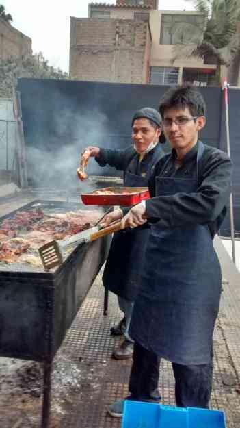 eventos polladas parrilladas chuletadas pro-fondos  buffet parrilero pro-salud pollo a la brasa