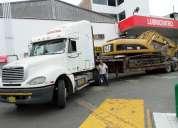 Transporte de maquinaria y equipos pesados