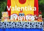 Decoraciones temáticas de toy story par fiestas infantiles en lima