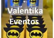 Fiestas infantiles ,decoraciones temáticas de batman valentika eventos