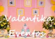 fiesta infantil rosa de la gallinita pintadita , decoraciones originales en lima