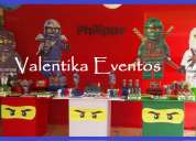 Ninjago ,fiestas infantiles , decoraciones tematicas en lima