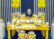 Minions , fiestas temáticas y personalizadas , decoraciones infantiles en lima