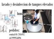 Lavado de cisterna y tanque de agua de casa o edficios