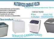 Servicio tecnico secadoras electrolux lima @@