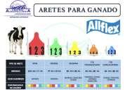 Aretes para ganado marca allflex