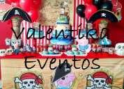 George pig piratas , fiesta infantiles , decoraciones piratas en lima