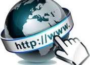 Internet e web, sitios internet, tienda virtual, ecommerce, dominios, correo ...
