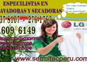 Servicio tecnico de lavadoras lg en surco 2761763 - 998722262