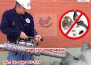 Fumigaciones - venta y recarga de extintores - limpieza tanques cisternas 792-4646