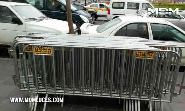 Alquiler de vallas de seguridad para eventos paravalanchas - Lima