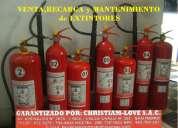 Fumigaciones - venta y recarga de extintores 792-4646