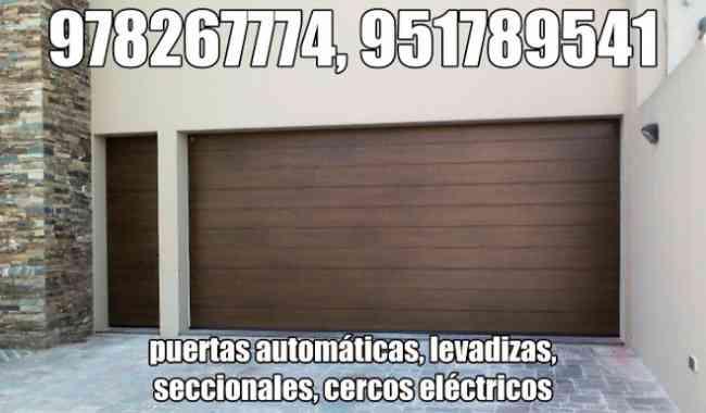 paneles solares huancayo, puertas levadizas, cercos eléctricos