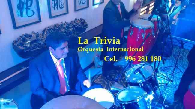 Orquesta Show: ORQUESTA PARA MATRIMONIOS FIESTAS CUMPLEAÑOS ORQUESTA LA TRIVIA