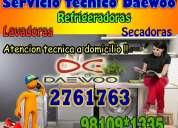 Control tecnico«2761763» daewoo « servicio tecnico »lavadoras / surco/