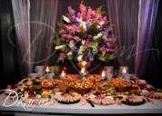 Catering, buffet, piletas de chocolate, mesas de quesos, en lima