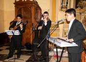 Coro para misa difuntos, bodas de oro, matrimonio civil, todo lima