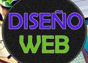 DiseÑo y desarrollo de pagina web + hosting y dominio gratis!