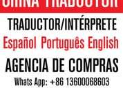 Interprete traductor chino espanol en yiwu china