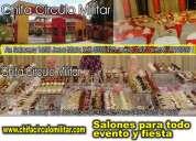 Salones para fiestas eventos aniversarios bodas lima peru chifa circulo militar  para 300 personas