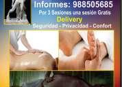 Masajes para hombres maduros,gorditos,contextura gruesa en lima