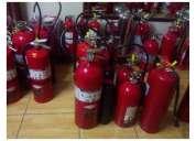 Recarga y venta de extintores con certificacion ul lima