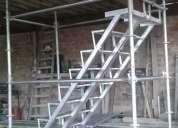 Venta y alquiler escaleras de acceso de 0.50, 0.70 y 1 mt. normados y certificados somos fabricantes