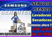 Servicio tecnico de lavadoras samsung en barranco **7378107**