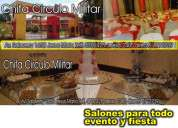 Salones para eventos fiestas aniversarios lima peru chifa circulo militar para fiestas jesus mari