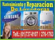 Servicio tecnico de lavadoras samsung en lince **7378107**