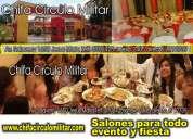 Salones eventos fiestas jesús maria lima peru chifa circulo militar bodas aniversarios en lima p