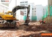 Excavaciones y demoliciones - democame
