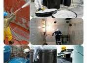 Lavado y desinfeccion de cisternas y tanque de agua para edificios y casas