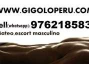 ███ el mejor de los gigolos 976218583 (claro - whatsapp), atención las 24 horas ███