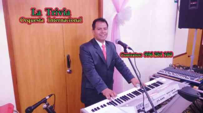 Orquesta para Bodas promociones Cumpleaños Matrimonios EN LIMA Orquesta LA TRIVIA Tf. 4505319