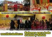 Salones de fiestas eventos jesús maria lima peru chifa circulo militar capacidad para 300 personas