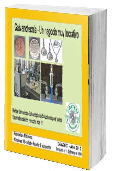 Galvanotecnia (cromados,dorados,plateados,niquelados,etc) curso Ceateci